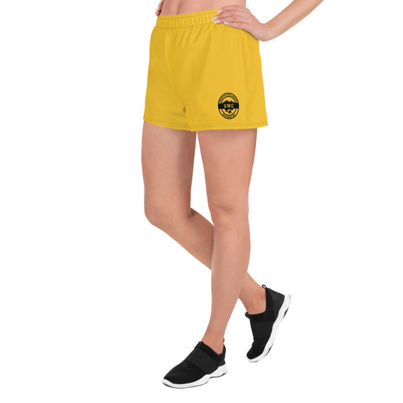 UClan x 53 Women's Athletic Short Shorts - Yellow / Black - 53Outdoors