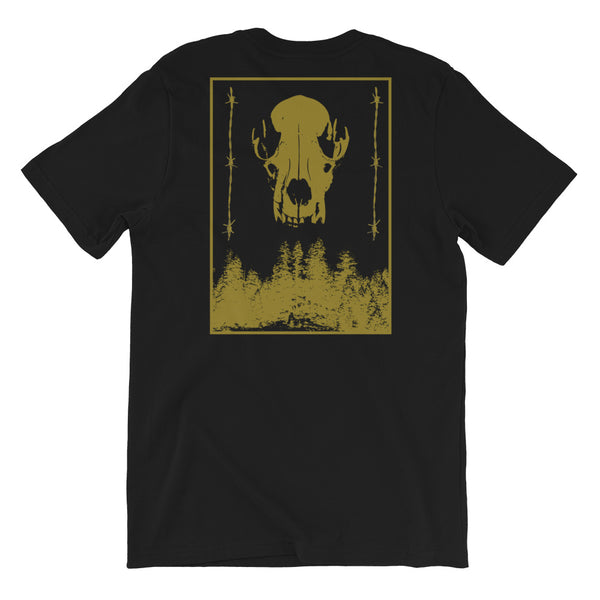 Wolf in Sheeps Clothing Short-Sleeve Unisex T-Shirt - Black / Gold - 53Outdoors