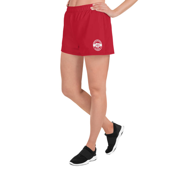 UClan x 53 Women's Athletic Short Shorts - Red / White - 53Outdoors