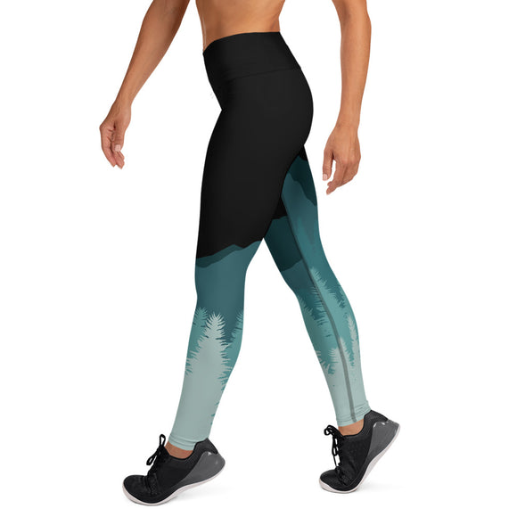 Night Mountain Yoga Leggings - 53Outdoors