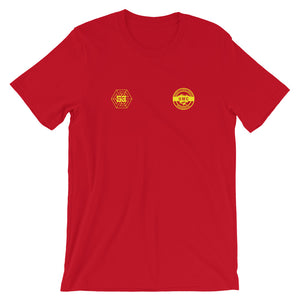 Ulcan x 53 Unisex T-shirt - Red / Yellow - 53Outdoors