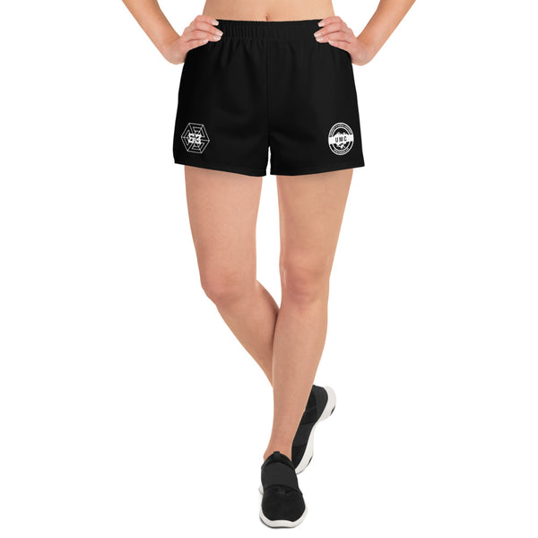 UClan x 53 Women's Athletic Short Shorts - Black / White - 53Outdoors