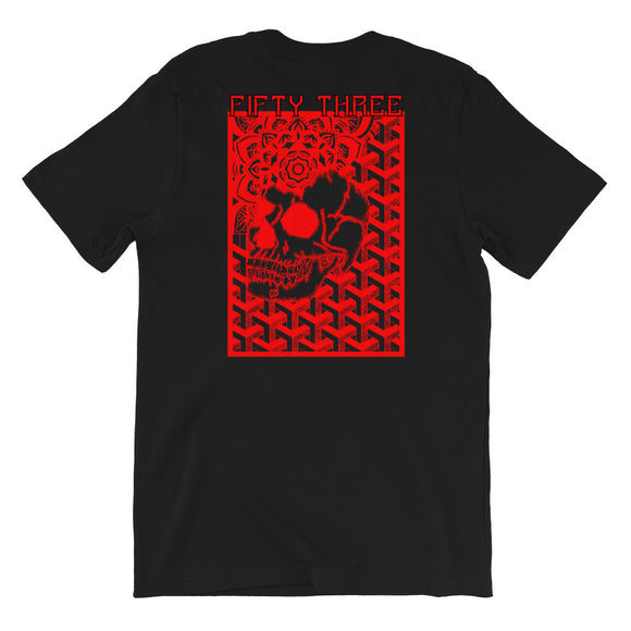 Eternal Dreams Short-Sleeve Unisex T-Shirt - Black / Red - 53Outdoors