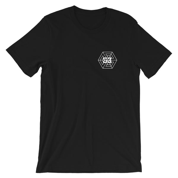 53 Geo Logo T-shirt - Pink & Black/White - 53Outdoors