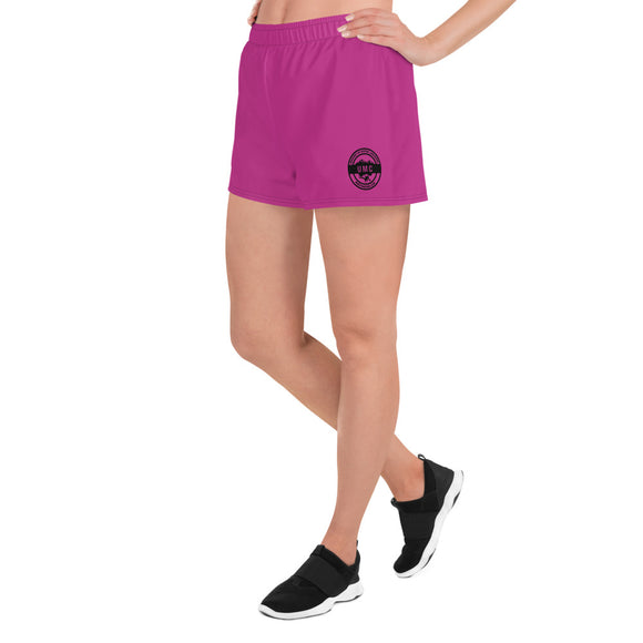 UClan x 53 Women's Athletic Short Shorts - Hot Pink / Black - 53Outdoors
