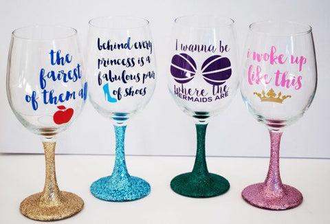 Special Handpainted Glasses
