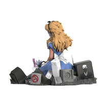 Load image into Gallery viewer, ABCNT x Mighty Jaxx 'Alice in Wasteland' Polystone Art Figure