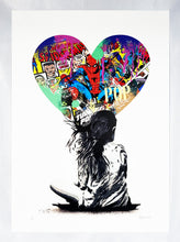Load image into Gallery viewer, ALESSIO B 'Spiderman' Screen Print