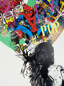 ALESSIO B 'Spiderman' Screen Print
