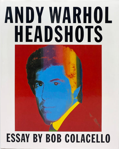 ANDY WARHOL 'Headshots' 1st Edition (2000) Book