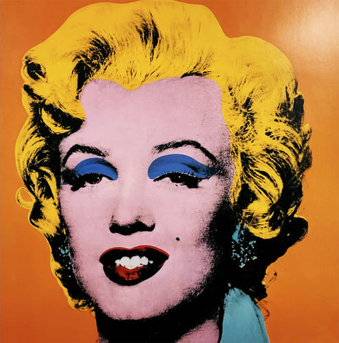 ANDY WARHOL 'Marilyn' (orange) Lithograph
