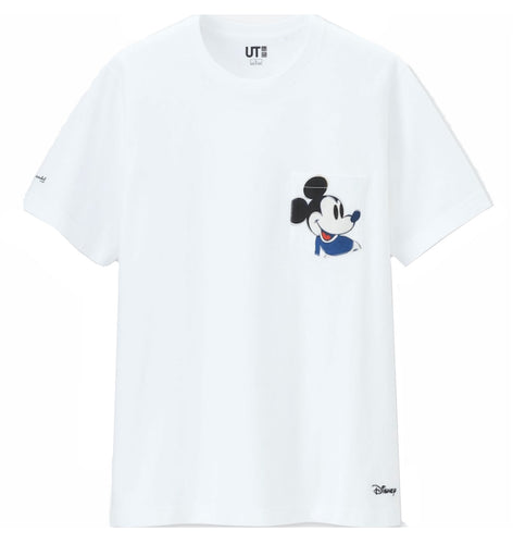 ANDY WARHOL x Uniqlo 'Mickey Mouse' (white) T-Shirt