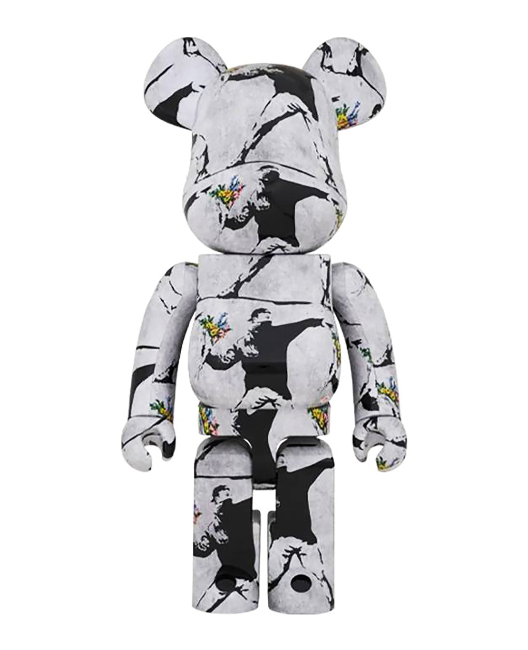 BANKSY (after) x Be@rbrick 'Flower Thrower' Rare BB