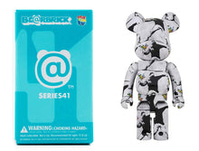 "Load image into Gallery viewer, BANKSY (after) x Be@rbrick 'Flower Thrower' Rare BB ""Chase"" Figure"