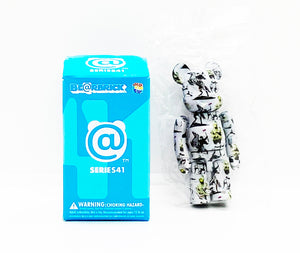 "BANKSY (after) x Be@rbrick 'Flower Thrower' Rare BB ""Chase"" Figure"
