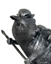 Load image into Gallery viewer, BANKSY (after) 'Black Rat' Fiberglass Sculpture