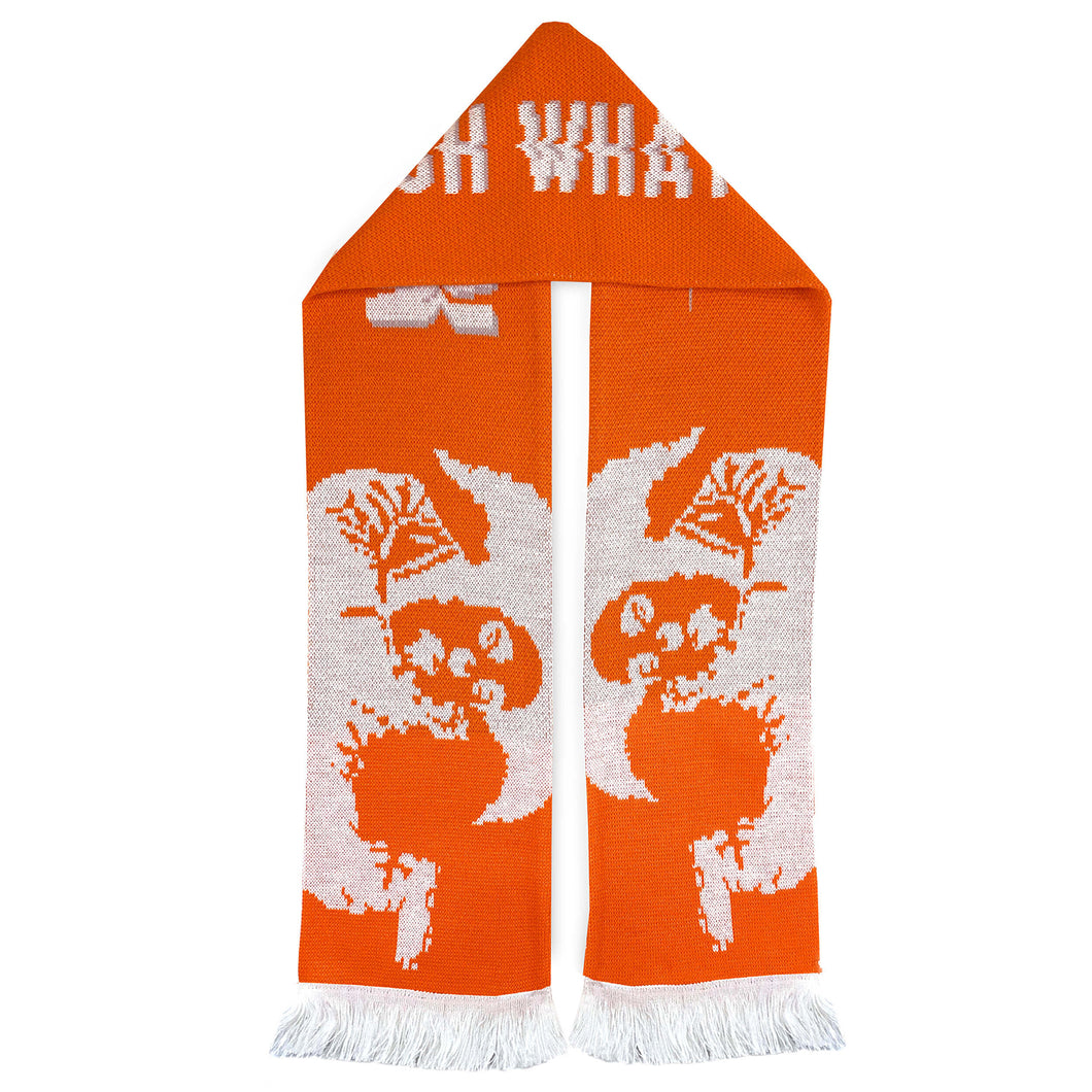 BANKSY (after) x Clown Skateboards 'Top Billin' (Orangina) Scarf