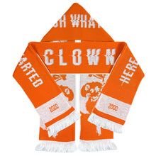 Load image into Gallery viewer, BANKSY (after) x Clown Skateboards 'Top Billin' (Orangina) Scarf