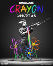 Load image into Gallery viewer, BANKSY (after) 'Crayon Shooter' Polystone Sculpture (1)