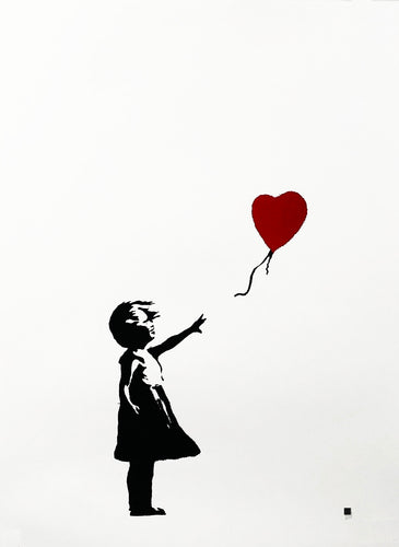 BANKSY (after) 'Girl with Balloon' Screen Print (#203/600) - Signari Gallery