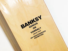 Load image into Gallery viewer, BANKSY 'I Am Banksy' Skateboard Deck