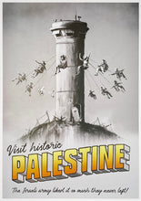 Load image into Gallery viewer, BANKSY 'Visit Historic Palestine' Lithograph Poster