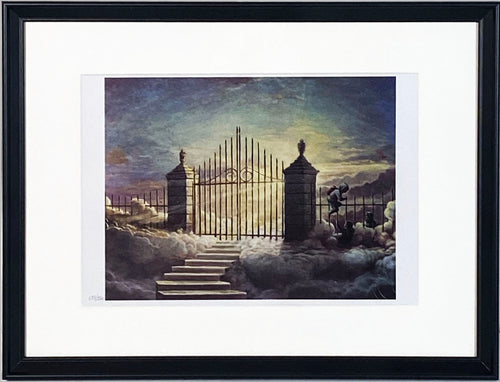 BANKSY 'Pearly Gates Children' Walled Off Hotel LE Print
