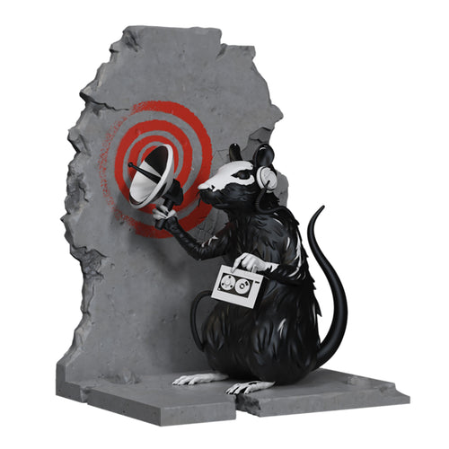 BANKSY (after) 'Radar Rat' Polystone Art Figure