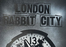 Load image into Gallery viewer, BENJAMIN IRRITANT 'Rabbit City' Spray + Screen Print