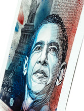 Load image into Gallery viewer, C215 'Obama' Giclée Print (#8/100)