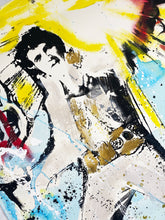Load image into Gallery viewer, CHAPEAU 'Elvis' Original Mixed Media on Paper (2)