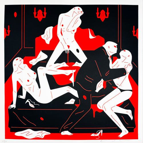 CLEON PETERSON 'Pissers II' Screen Print