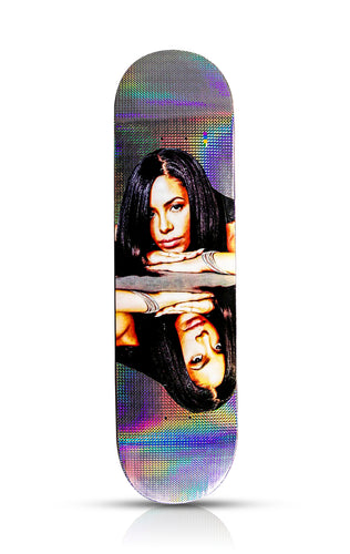 COLOR BARS 'Aaliyah Hologram Reflect' Skateboard Deck