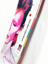 Load image into Gallery viewer, COLOR BARS x DAVID BOWIE 'Aladdin Sane' Diptych Skateboard Set