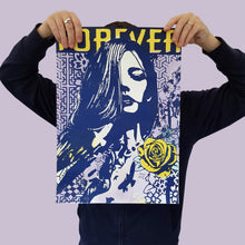 Load image into Gallery viewer, COPYRIGHT 'Forever, Forever, Forever' (Var. III) Silkscreen Print
