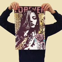Load image into Gallery viewer, COPYRIGHT 'Forever, Forever, Forever' (Var. II) Silkscreen Print
