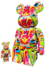 Load image into Gallery viewer, CRASH x Be@rbrick 'Tagged' Art Figure Set