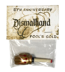 DMS 'Dismalhand' (gold) Resin Severed Hand from Banksy's Dismaland