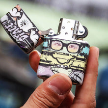 Load image into Gallery viewer, D*FACE 'King's Cross Mural' Zippo Lighter