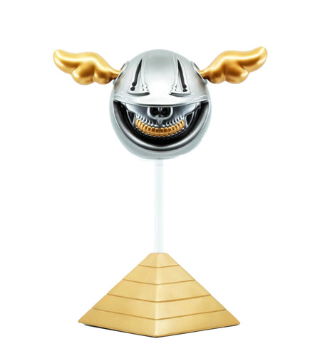 D*FACE x RON ENGLISH 'D*Dog x Grin Skull' SIGNED Art Sculpture