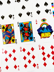 DABS MYLA 'Good/Great Morning' Un-Cut Playing Card Sheet