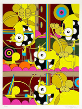Load image into Gallery viewer, DALEK 'Spacemonkey (Fine Tuning)' Screen Print (8/90)