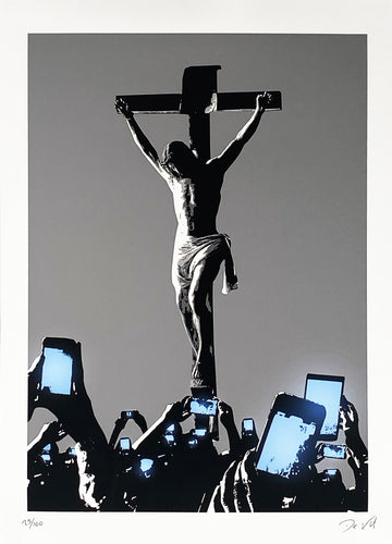 DE VIL 'The Crucifixion' Giclée Print