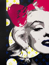 Load image into Gallery viewer, DEATH NYC 'Marilyn LV Bubbles Lithograph Print - Signari Gallery