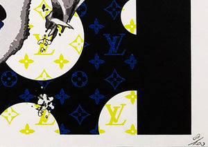 DEATH NYC 'Marilyn LV Bubbles Lithograph Print - Signari Gallery