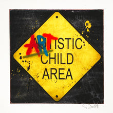 Load image into Gallery viewer, DENIAL 'Artistic Child Area' (mini) Giclée Print