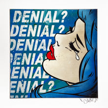 Load image into Gallery viewer, DENIAL 'Denial?' (mini) Giclée Print