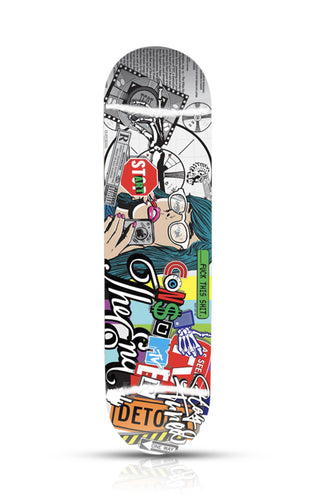 DENIAL 'Fuck this Shit' Skateboard Deck