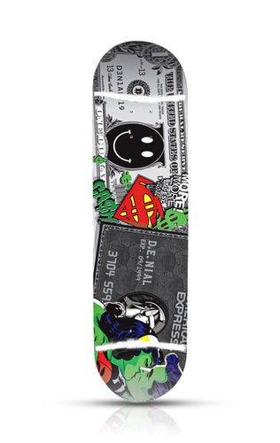 DENIAL 'Money Matters' Skateboard Deck