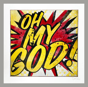 DENIAL 'Oh My God!' (mini) Giclée Print